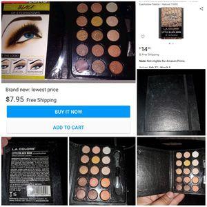 LA COLORS Little Black Box of Eyeshadows for Sale in San Bernardino, CA