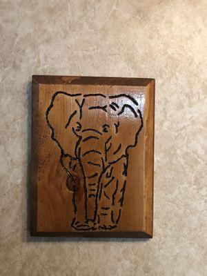 Wood Frame elephant for Sale in Clarksburg, WV