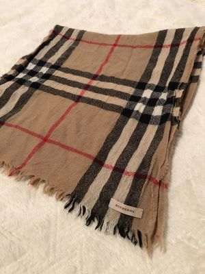 Burberry neck scarf wool blend (never been worn) for Sale in Portland, OR
