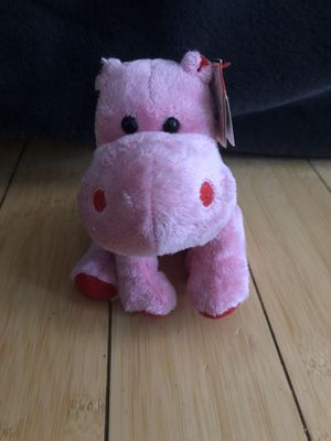 Original Ty Beanie Babies Big Kiss hippo stuffed animal - Brand New with Tags for Sale in New York, NY