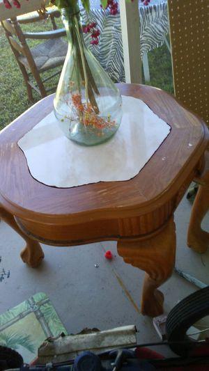 Claw feet end table cute design for Sale in Sebring, FL