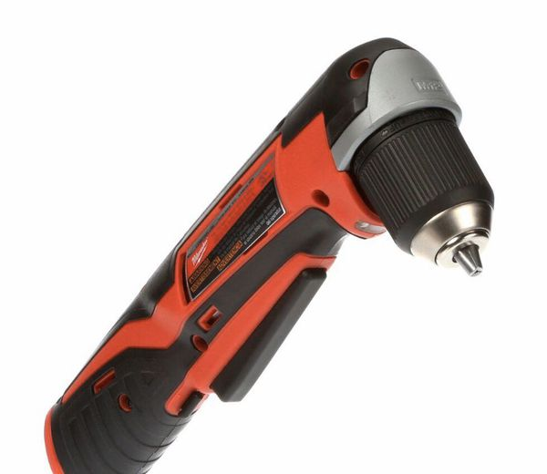 "Milwaukee M12 3/8"" right angle drill"