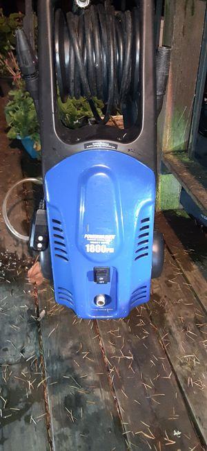 Power washer 1800-psi for Sale in Kent, WA