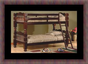 Wooden twin bunkbed frame for Sale in Fairfax, VA
