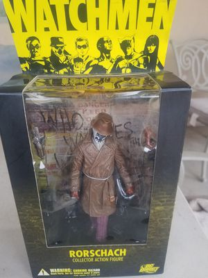 Watchmen Movie Series 1 Rorschach 7in Action Figure DC Direct Toys for Sale in Chandler, AZ
