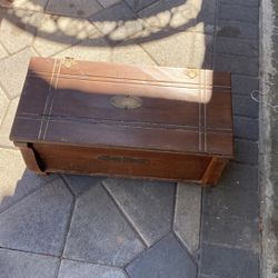 Antique chairs an old wood chest for Sale in Long Beach,  CA
