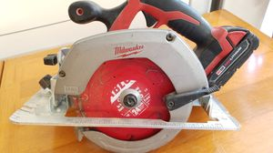 Milwaukee M18 Red Lithium Circular Saw for Sale in Scottsdale, AZ