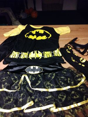 Halloween BATGIRL Costume Small for Sale in Spring Hill, FL