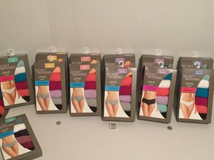Underwear sizes 5-9 6pack Singles 4-10 for Sale in Fitzgerald, GA