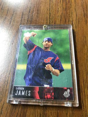 LeBron James Indians baseball card for Sale in MIDDLEBRG HTS, OH