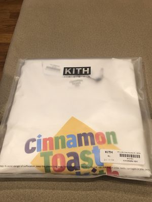fb267f15b KITH X Cinnamon Toast Crunch T-shirt XL for Sale in Yonkers