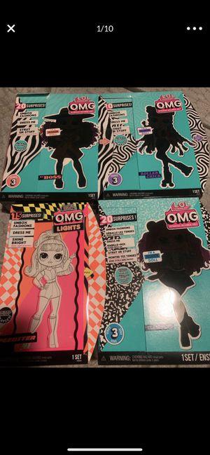 Lol omg dolls da boss speedster chillax class prez roller chick groovy dazzle for Sale in Compton, CA