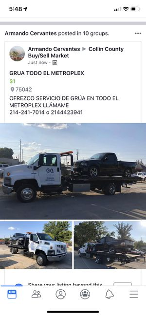 GG TOWING SERIVCES for Sale in Garland, TX