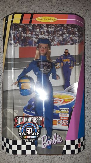 50th anniversary nascar barbie for Sale in San Carlos, CA