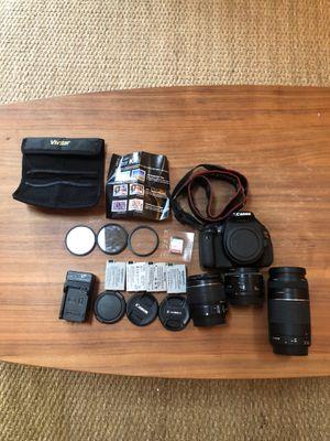 Canon EOS rebel T3i digital camera for Sale in San Diego, CA