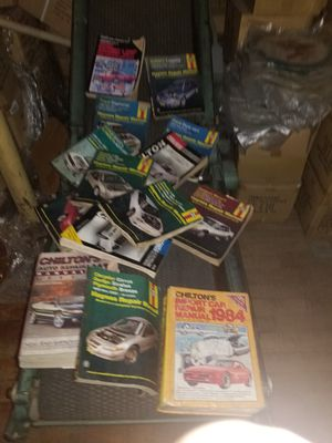 Giant lot of offical assorted mechanic shop manuals for Sale in Leominster, MA