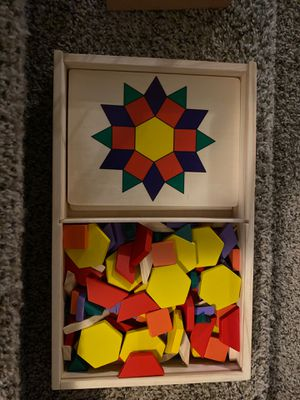 Geometric shape puzzles and wooden game for Sale in Keizer, OR