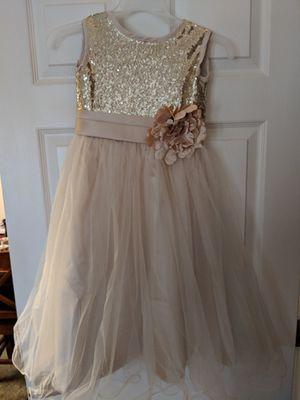 Beige flower girl dress for Sale in Groveport, OH