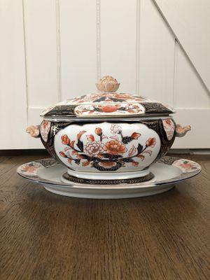 Decorative Taurine & Platter - Real China for Sale in Atlanta, GA