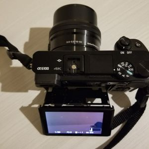 Sony A6100 4k Mirrorless Dslr for Sale in Washington, DC