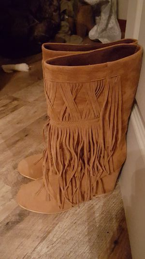 Fringe boots for Sale in Harrisburg, PA