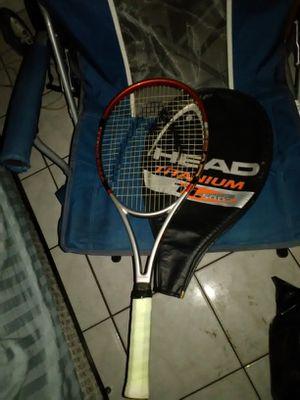 Titanium tennis racket for Sale in Tampa, FL