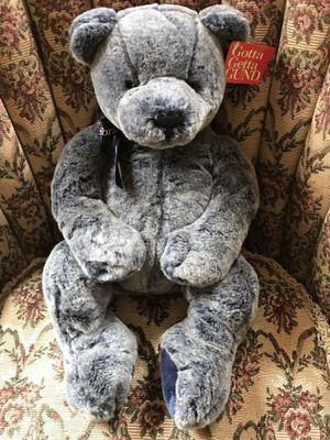 Gund Blue Stuff Bear for Sale in Chelmsford, MA