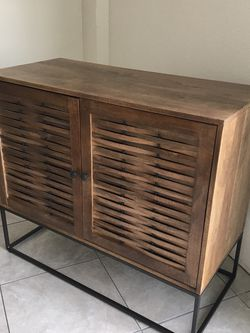 New Two Door Wooden Cabinet for Sale in Fontana,  CA