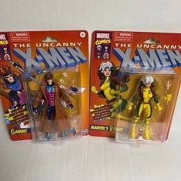Marvel Legends Retro Rogue And Gambit for Sale in East Los Angeles, CA