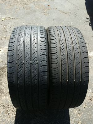2USED TIRES CONTINENTAL 225/45/17....65% TREAD $50, for both tires for Sale in Los Angeles, CA