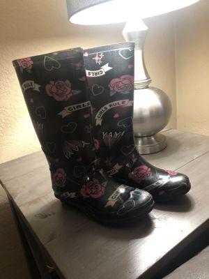 Girls rain boots for Sale in Turlock, CA
