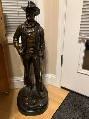 Bronze John Wayne statue. for Sale in Vancouver, WA