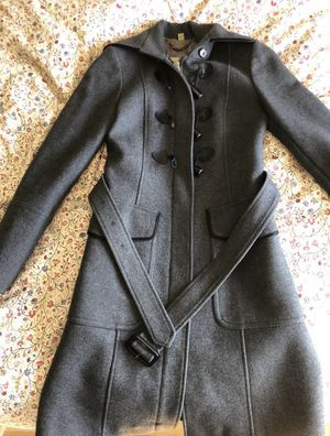 Burberry Women's Wool Trench US 2 for Sale in Queens, NY