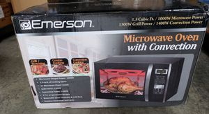 Emerson Microwave Oven with Convection 1.5 Cubic feet for Sale in Lakewood, CA