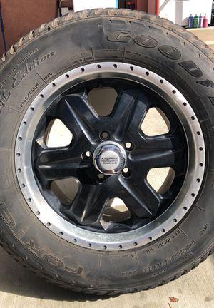 "18"" American Racing Rims & Tires (5x127mm) for Sale in Pasadena, CA"