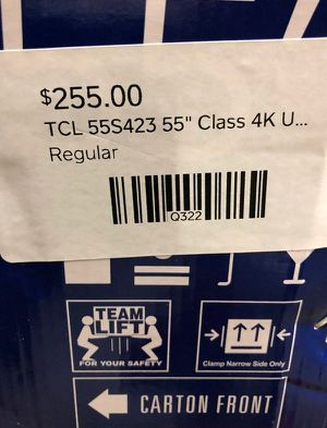 "55"" TCL Roku Tv❗️ U 1 for Sale in Colton, CA"