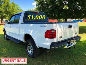 🔑🔑💲1OOO I'm selling URGENTLY 🔑2OO2 Ford F-150 XLT 🔑Super Crew Cab 4-Door Pickup Everything is working great! Runs great and fun to drive!!🔑🔑 for Sale in Oklahoma City, OK