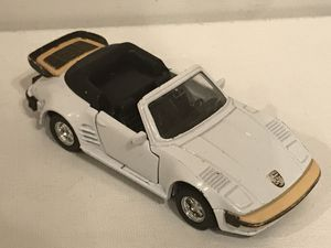 Vintage die cast collectible Die cast 1/36 porche 911 turbo flat nose cabriolet mc toy made in Macau for Sale in Kenmore, WA