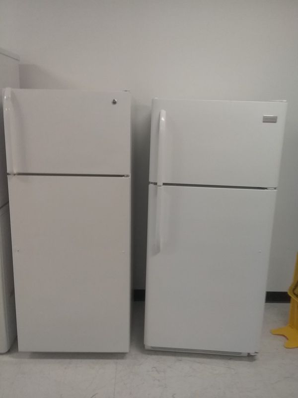 Whirlpool, frigidaire, ge top and bottom refrigerator used good condition 90days warranty 🔥🔥