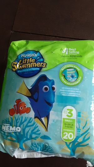 Huggies little swimmers for Sale in Severn, MD