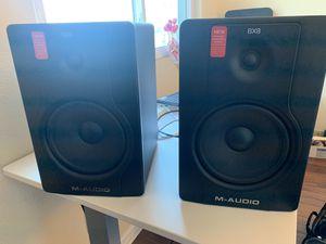 M-audio BX8 Studio speakers for Sale in Fountain Hills, AZ