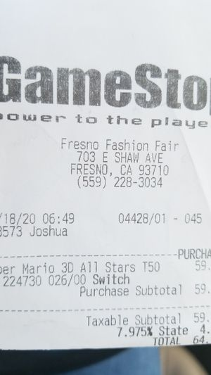 Nintendo switch game for Sale in Fresno, CA