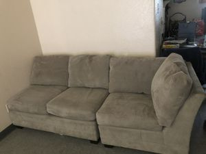 Crate & Barrel couch 3 Sections for Sale in Stockton, CA