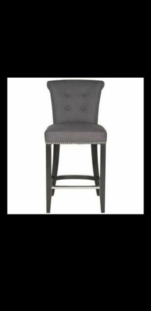 New Addo 25.7 in. Charcoal Cushioned Bar Stool (Retail price:$353+Tax) for Sale in Phoenix, AZ