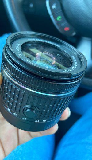 Nikon Dx lens 18-55mm for Sale in Stockton, CA