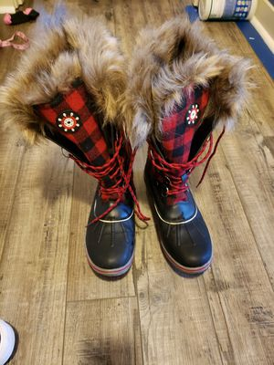 Womens snow rain winter boots size 9 for Sale in Washougal, WA