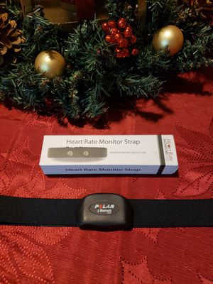 Bluetooth Polar Heart Rate Monitor with Chest Strap for Sale in Humble, TX