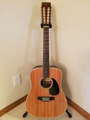1978 Suzuki Three-S F-180 Nagoya Japan 12 String Acoustic Guitar - Excellent! for Sale in Woodburn, OR