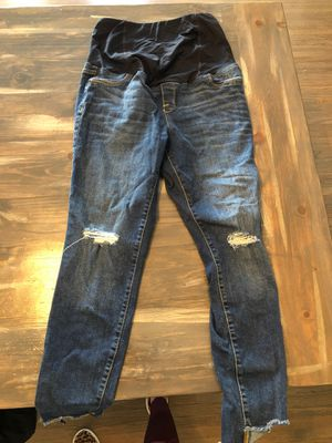 Size 8 maternity jeans for Sale in Los Angeles, CA