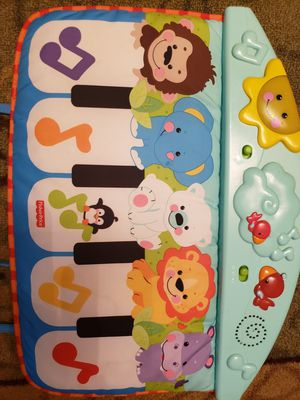 Fisher price baby crib piano for Sale in Denver, CO